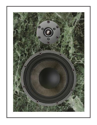 Встраиваемая акустическая система из гранита Solar Audio sm502