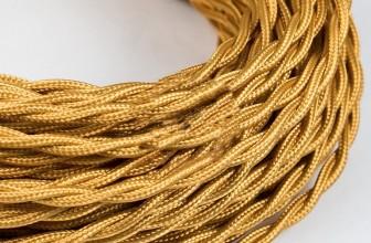 витые текстильные ретро — провода