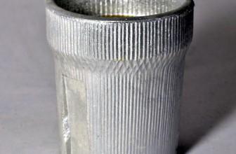 декоративный патрон Е27, серебро